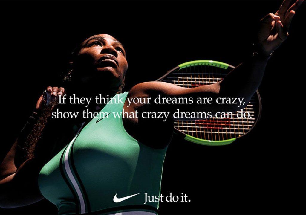 pub Nike Dream Crazy